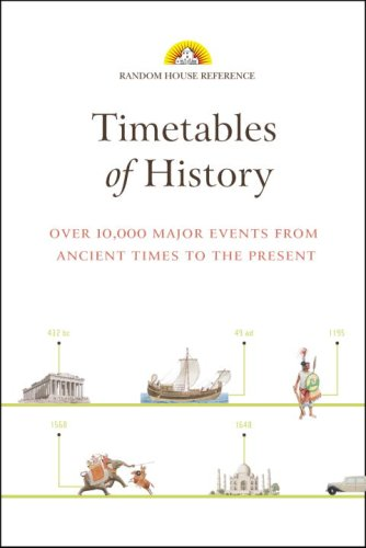 Timetables of History 9780375722264