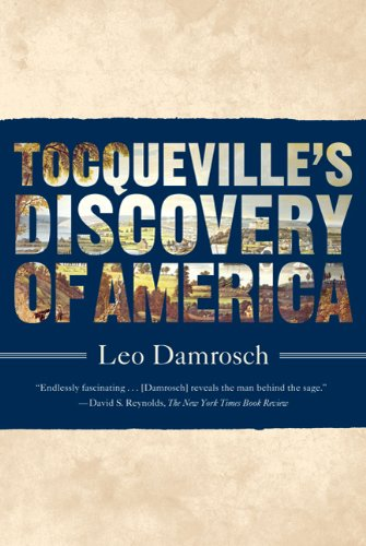 Tocqueville's Discovery of America 9780374532598