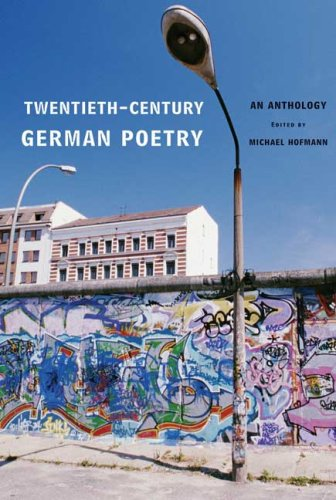 Twentieth-Century German Poetry: An Anthology 9780374105358