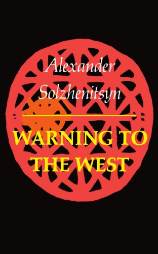 Warning to the West 9780374513344