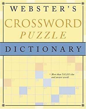 Webster's Crossword Puzzle Dictionary 9780375425844