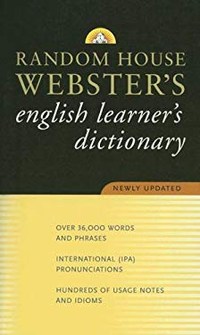 Webster's English Learner's Dictionary 9780375722554