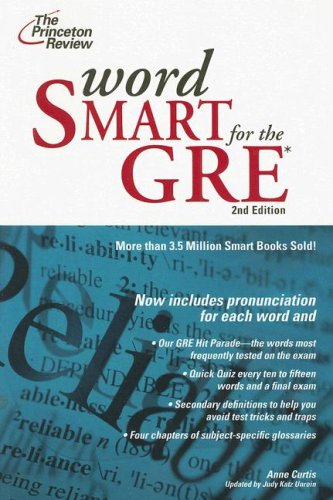Word Smart for the GRE 9780375765773