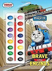 Brave Little Engines (Thomas & Friends) (Deluxe Paint Box Book) 22989905