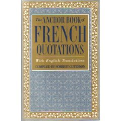 A Book of French Quotations 9780385413923