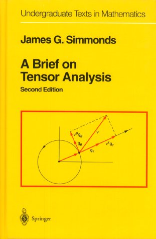 A Brief on Tensor Analysis 9780387940885