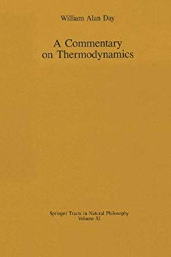 A Commentary on Thermodynamics