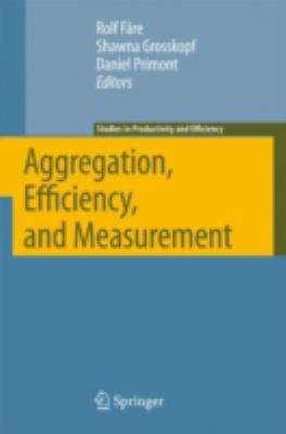 Aggregation, Efficiency, and Measurement 9780387369488
