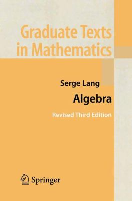 Algebra 9780387953854