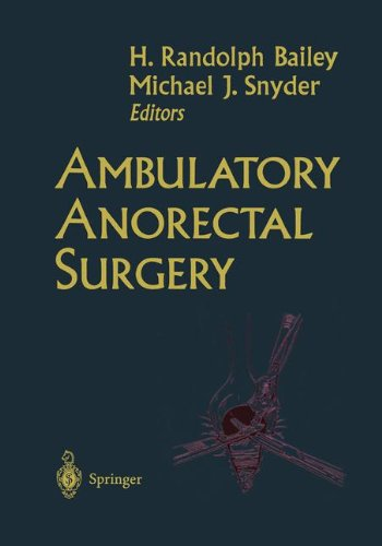 Ambulatory Anorectal Surgery 9780387986036