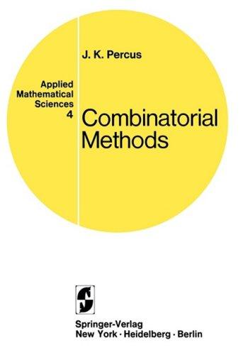 Combinatorial Methods. 9780387900278