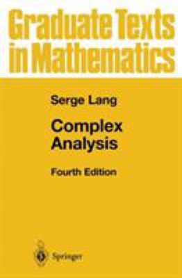 Complex Analysis 9780387985923