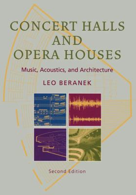 Concert Halls and Opera Houses: Music, Acoustics, and Architecture 9780387955247