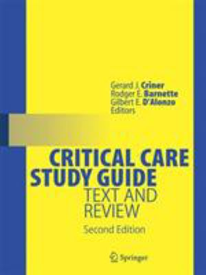 Critical Care Study Guide: Text and Review 9780387773278