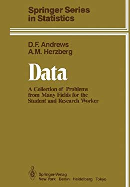 Data:: A Collection of Problems from Many Fields for the Student and Research Worker 9780387961255