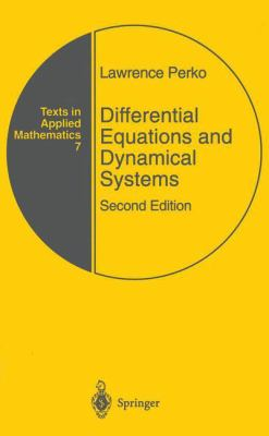 Differential Equations and Dynamical Systems 9780387947785