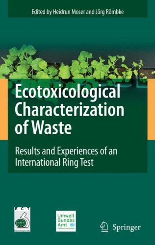 Ecotoxicological Characterization of Waste: Results and Experiences of an International Ring Test 9780387889580