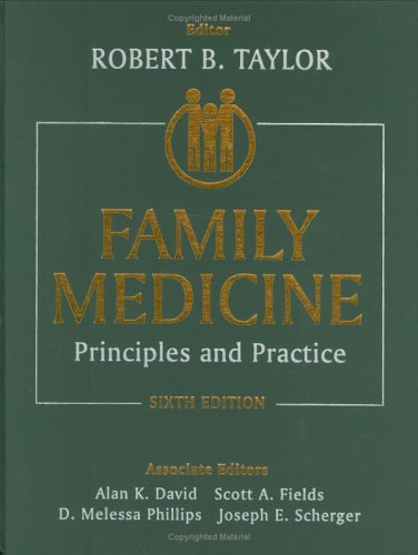 Family Medicine: Principles and Practice 9780387954004