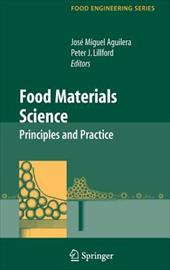 Food Materials Science: Principles and Practice