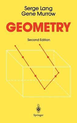 Geometry 9780387966540