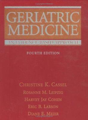 Geriatric Medicine: An Evidence-Based Approach 9780387955148