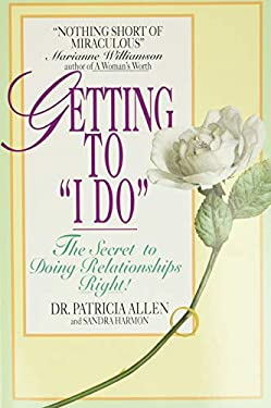 Getting to 'i Do' 9780380718153