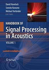 Handbook of Signal Processing in Acoustics, 2-Volume Set 1181942