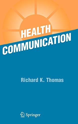 Health Communication 9780387261157