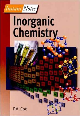 Instant Notes in Inorganic Chemistry 9780387916040