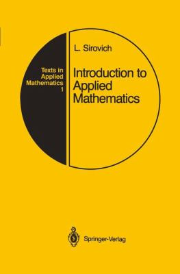 Introduction to Applied Mathematics 9780387968841