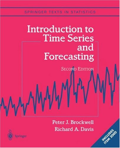 Introduction to Time Series and Forecasting 9780387953519