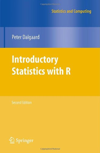 Introductory Statistics with R 9780387790534