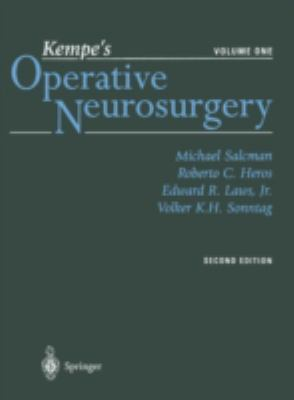 Kempe's Operative Neurosurgery. Volume One: Cranial, Cerebral, and Intracranial Vascular Disease 9780387985374