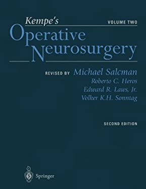 Kempe's Operative Neurosurgery. Volume Two: Posterior Fossa, Spinal and Peripheral Nerve 9780387985367