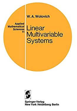 Linear Multivariable Systems. 9780387901015