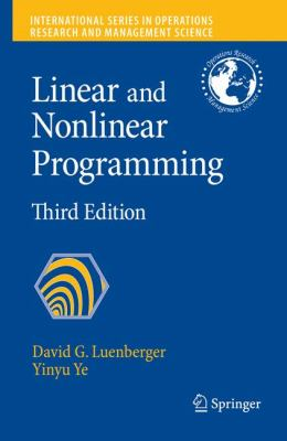 Linear and Nonlinear Programming 9780387745022