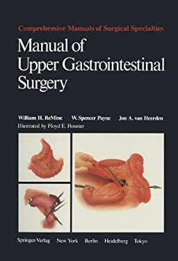Manual Upper Gastro Surg: 9780387961484