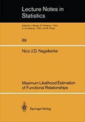 Maximum Likelihood Estimation of Functional Relationships