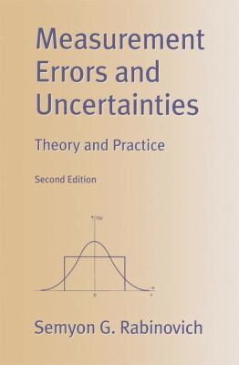 Measurement Errors and Uncertainties: Theory and Practice 9780387988351