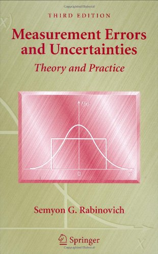 Measurement Errors and Uncertainty: Theory and Practice 9780387253589
