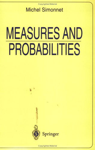 Measures and Probabilities 9780387946443