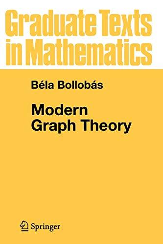 Modern Graph Theory 9780387984889