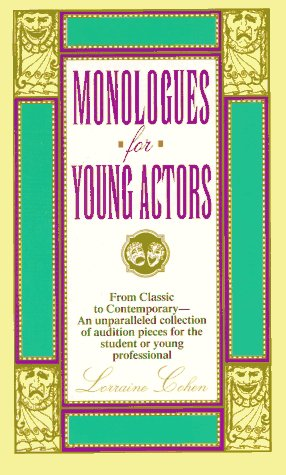 Monologues for Young Actors 9780380761876