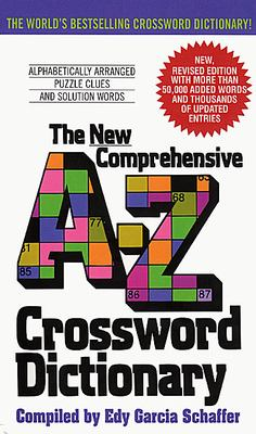 New Comprehensive A-Z Crossword Dictionary 9780380724253