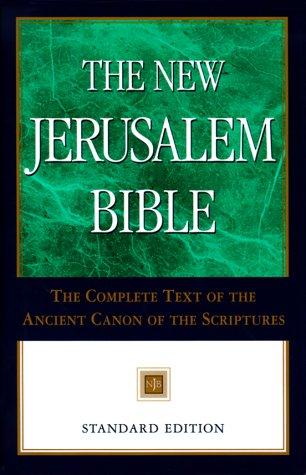 New Jerusalem Bible-NJB-Standard 9780385493208