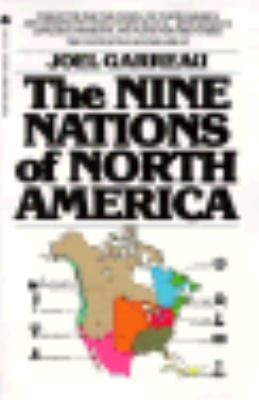 Nine Nations of North America 9780380578856