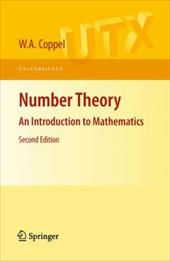 Number Theory: An Introduction to Mathematics 1183100