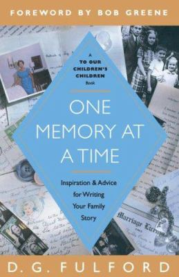 One Memory at a Time 9780385516778