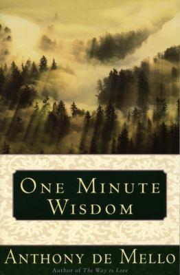 One Minute Wisdom 9780385242905