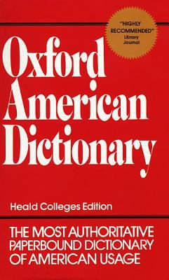 Oxford American Dictionary 9780380607723